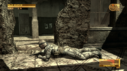 Snake using Octocamo (Metal Gear Solid 4)