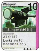 Stinger MGS1 card