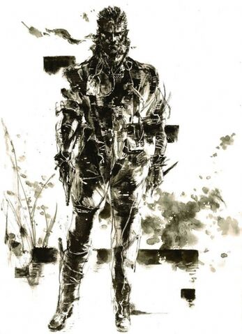 File:MGS3 Big Boss Artwork.jpg