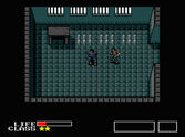 Solid Snake and Greyfox - Outer Heaven Prison