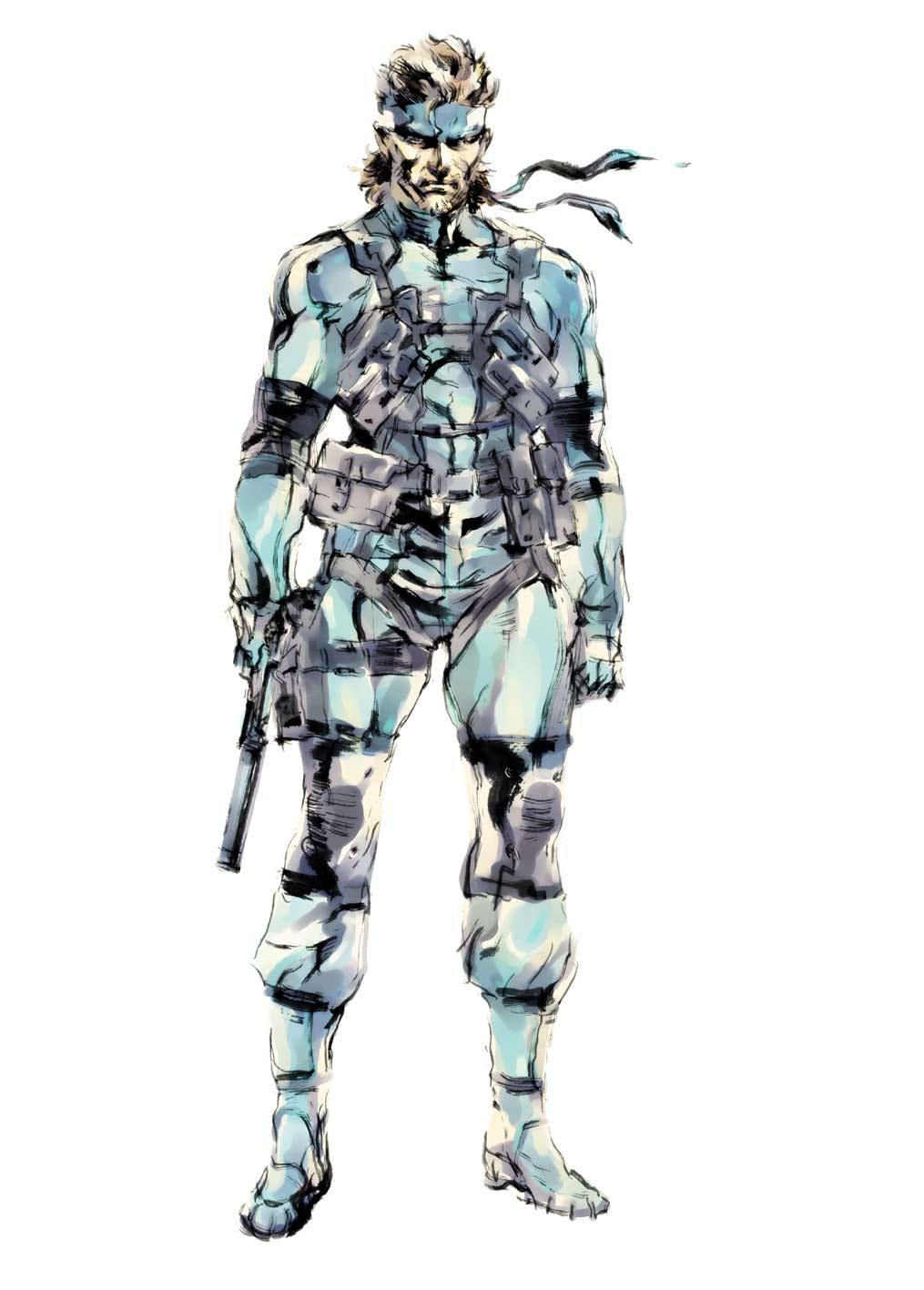 Image Mgsart2png Metal Gear Wiki Fandom Powered By Wikia