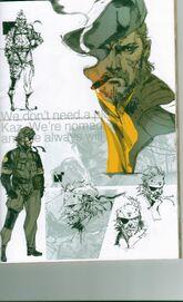 Big Boss bonus art packet artwork part 1 001