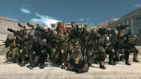 Official METAL GEAR ONLINE GAME PLAY DEMO MGSV THE PHANTOM PAIN (EU) PEGI KONAMI