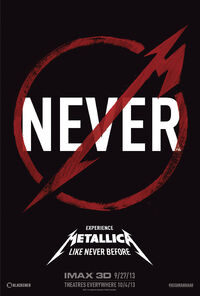 Metallica-Wiki Metallica-Through-the-Never Film Poster 001