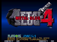 Metal Slug 4 logo