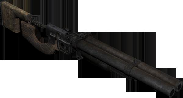 Metro 2033 (Duplet double-barreled shotgun) - YouTube