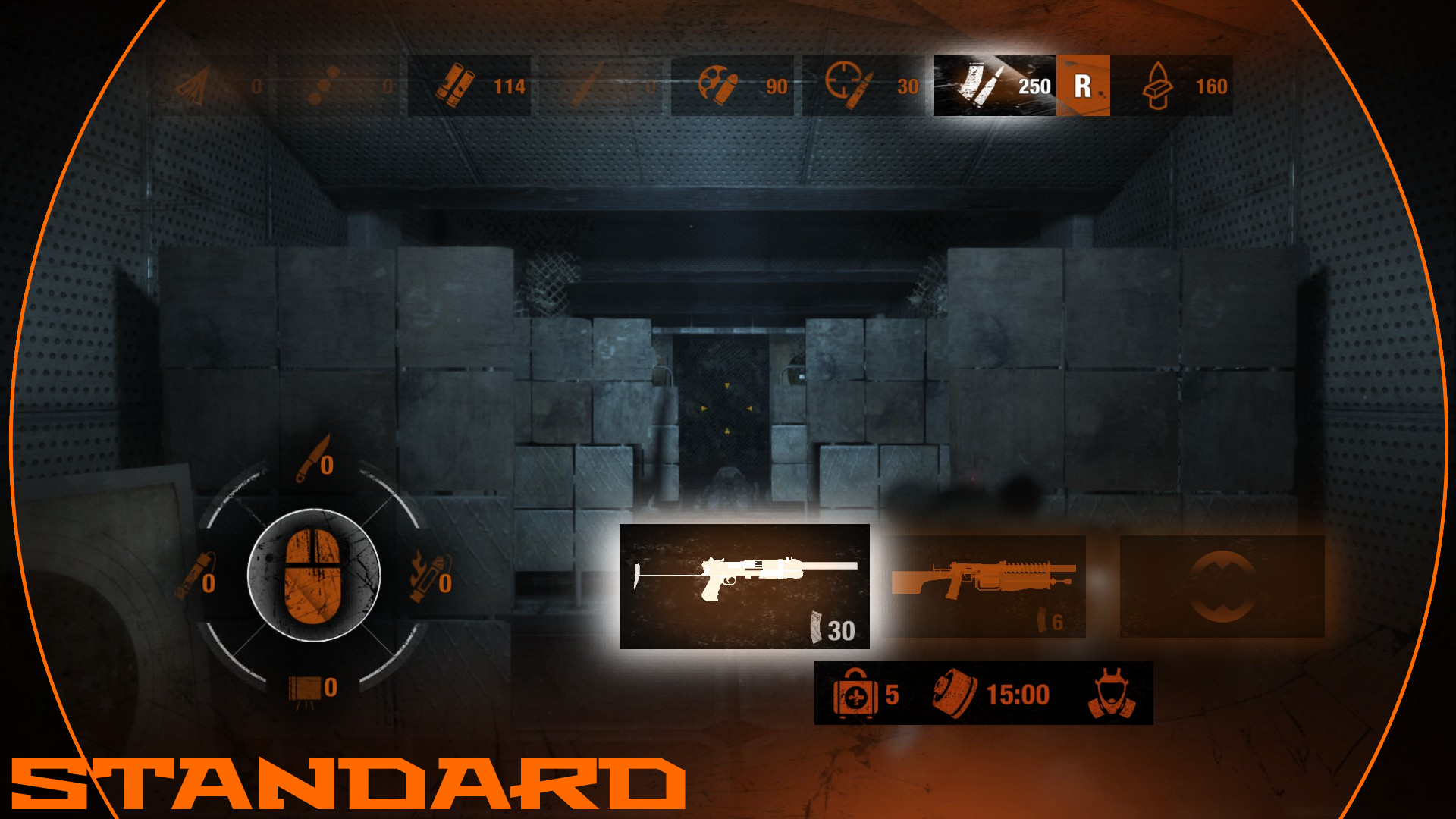 Metro 2033 Style HUD image - Ghost Land mod for S.T.A.L.K.E.R. ...