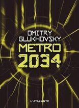 Metro 2034 - francuska okładka