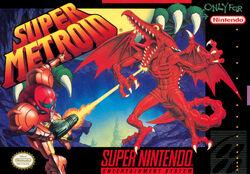 Обложка коробки Super Metroid