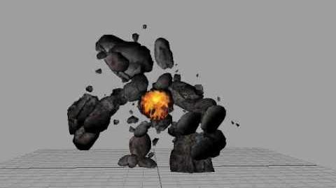 Thardus Boss animation