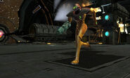 Exterior Docking Hangar escape Samus Power Suit Dolphin HD