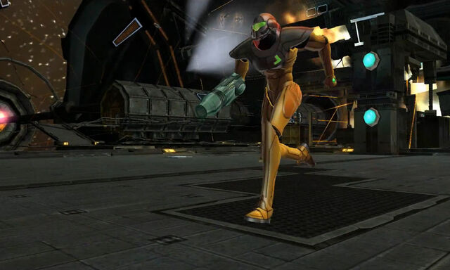 File:Exterior Docking Hangar escape Samus Power Suit Dolphin HD.jpg