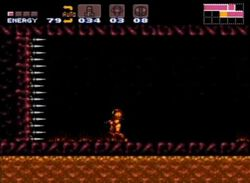 Super metroid spike wall