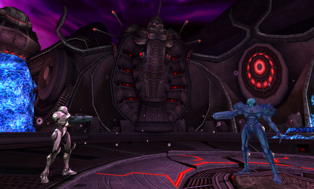 File:Samus and Dark Samus Dark Aether.png