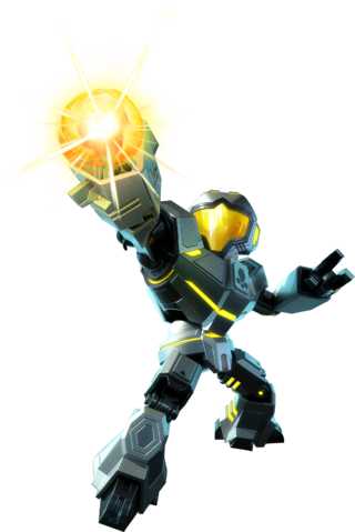 File:Metroid Prime Federation Force - Yellow Fed Marine.png