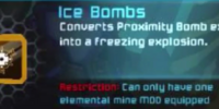 Ice Bombs