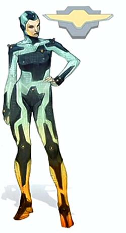 Female Fleet Trooper