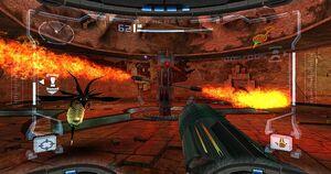 Prime Trilogy Promotional Incinerator Drone Barbed War Wasp Burn Dome