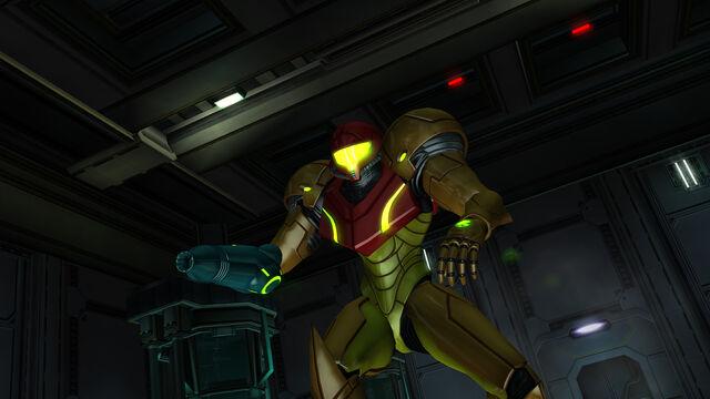 File:Samus faces Queen Room MW Bioweapon Research Centre HD.jpg