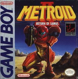 Обложка коробки Metroid II
