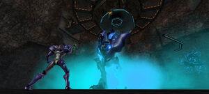 Omega Pirate breaks free.jpg