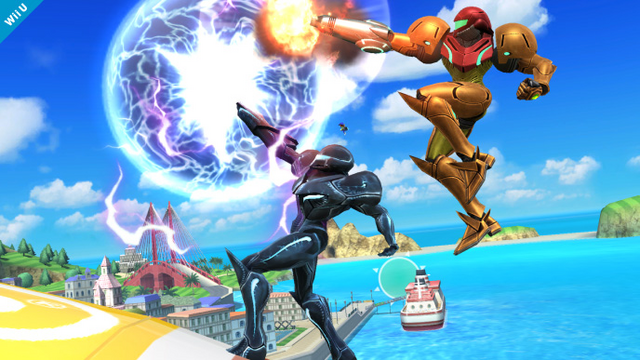 File:Samus and Dark Samus working together.png