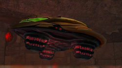 Samus Gunship Echoes Landing