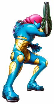 Fusion suit Metroid Fusion picture