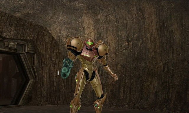 File:Samus enters Lava Lake Magmoor caverns 2 dolphin hd.jpg