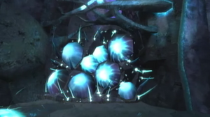 Phazon Blocker (Metroid Cavern)