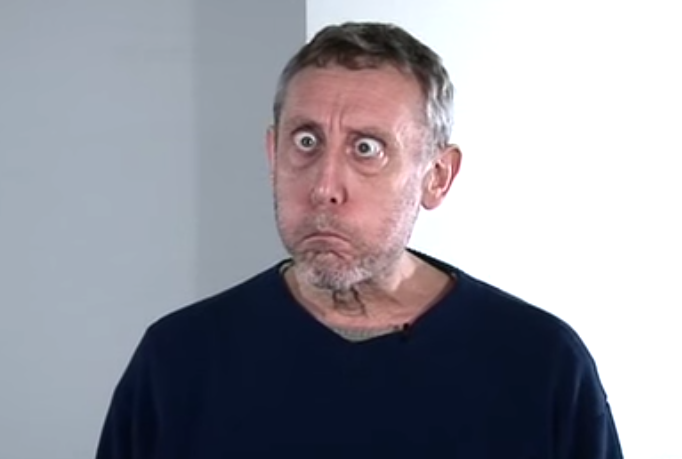 Image result for michael rosen no breathing