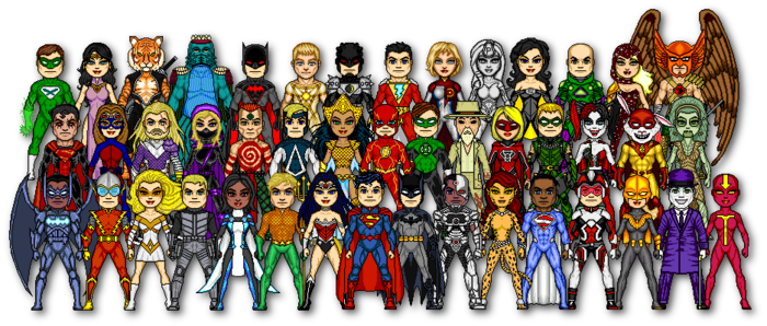 dc characters: