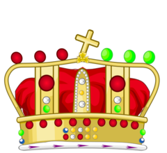 Crown of Saint Joseph Heraldic Version