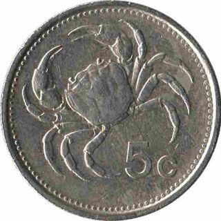 Scotan 5 Cent Coin