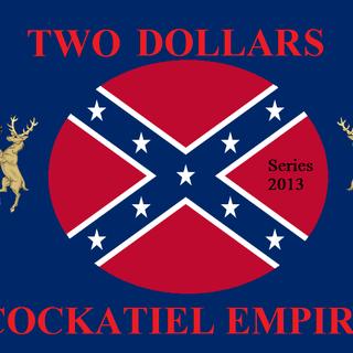 Two Cockatiel Dollars (Series 2013)