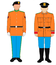 Imperial Gaurd Uniform