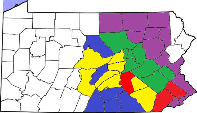 File:Dauphin County PA Map.png