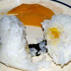 Open onigiri