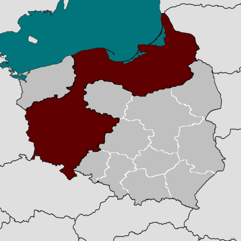 File:Poland map simple with voivodeships.png