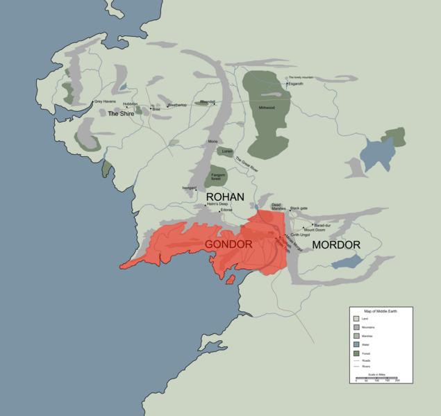 Gondor | Middle-earth: Shadow of War Wiki | FANDOM powered ...