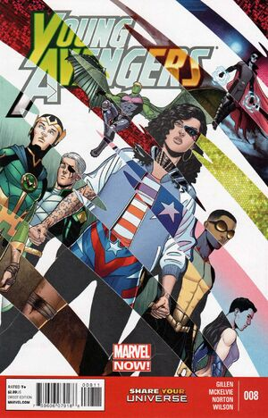 Young Avengers Vol 2 8