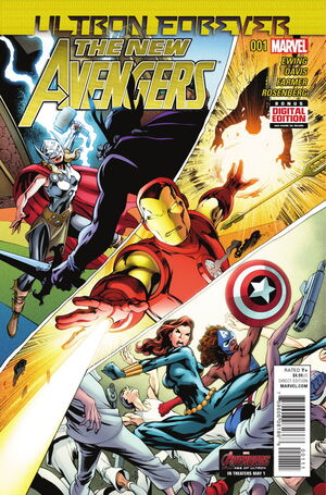 New Avengers Ultron Forever Vol 1 1
