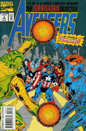 Avengers Terminatrix Objective Vol 1 3