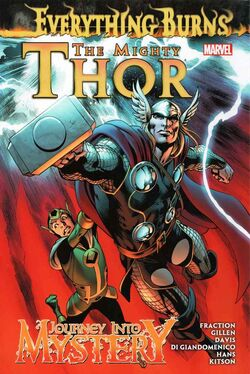 Mighty Thor Journey Into Mystery Everything Burns HC