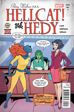 Patsy Walker AKA Hellcat Vol 1 5