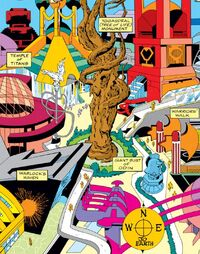 City of Asgard 1 from JIM Annual 1