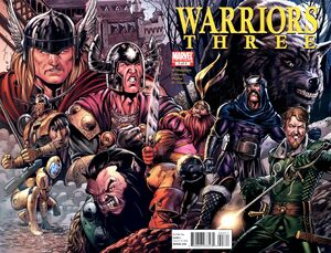 Warriors Three Vol 1 3