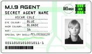 ID card 2 - Oscar Cole