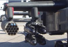 AH-64 hellfire rack