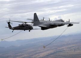 HC-130P-N refuels HH-60G